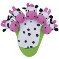 Kingsley Terry Wash Glove with Cow Finger Tips