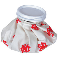 Ice Bag with Red Cross Design