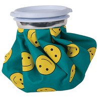Ice Bag with Smiley Face Design