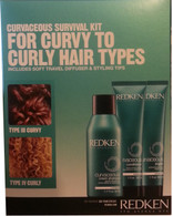 Redken Curvaceous Survival Kit for Curvy to Curly Hair Types