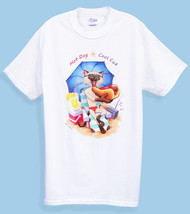 HOT DOG COOL CAT T-SHIRT WHITE