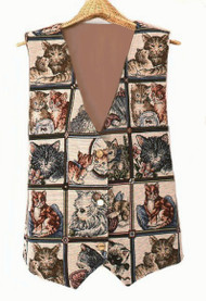 Playful Cats Vest