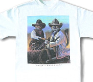 BUTCH-SUNDANCE CAT T-SHIRT WHITE