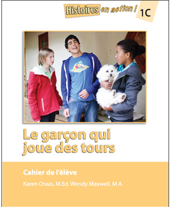 Le garcon qui joue des tours student workbook aim for Garcon french to english