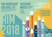 AIM Workshop - Adelaide (French, Mandarin, Japanese) MAY 2018