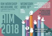 AIM Workshop - Melbourne (French, Mandarin, Japanese) 18/04/2018