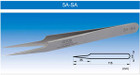 Vetus - Non Magnetic Silver Tweezers (Individual) 5A-SA