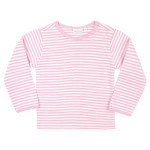 JoJo Maman Bébé Stripe Long Sleeved Rib Top