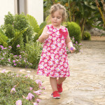JoJo Maman Bébé Daisy Print Party Dress