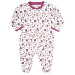 JoJo Maman Bébé Lollipop Rose Sleepsuit
