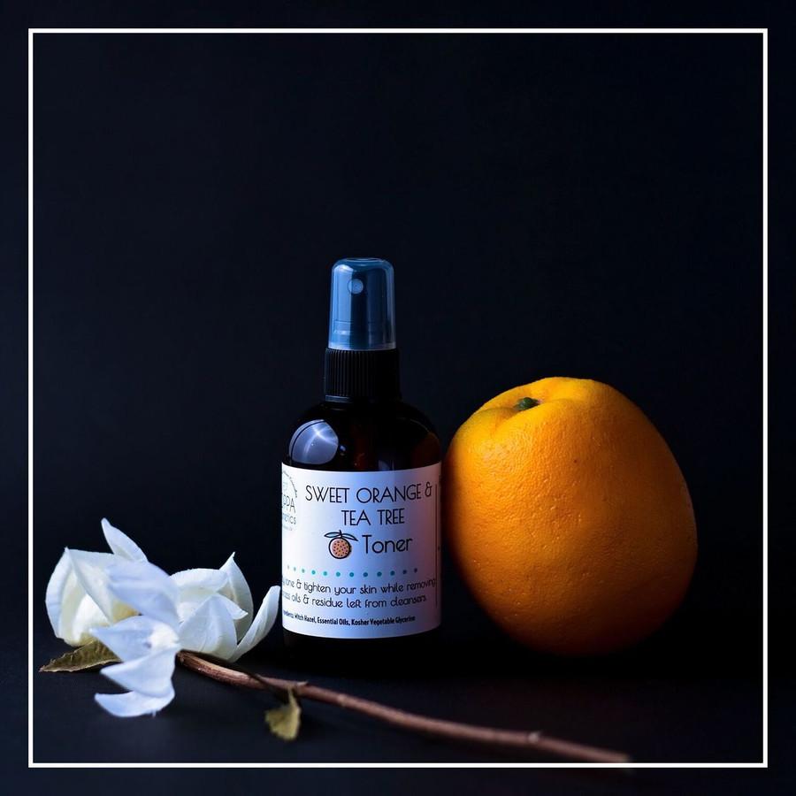 Sweet Orange and Tea Tree Toner