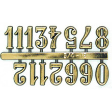 Arabic Clock Numbers Self Adhesive