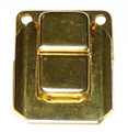 Small Box Lid Latch Brass Exposed Hole