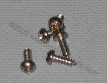 #2 Phillips Nickel Round Head Screw