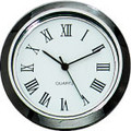 Gun Metal Roman 1-7/16 (36mm) Clock Fit-Up Insert