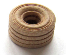 1 Inch Treaded Toy Wheels