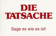 German: Tell It Like It Is - Tract
