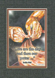 KJV Scripture Blank Greeting Card - The Potter