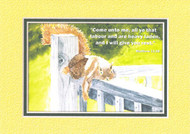 KJV Scripture Encouragement Card - Squirrel