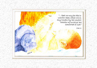 KJV Scripture Encouragement Card - Little Boy