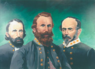 Generals of the CSA - Generals Hill, Stuart, Johnston