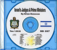 Israel's Judges and Prime Ministers CD - Donovan