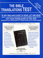 Bible Translations Test
