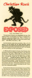 Christian Rock Exposed - Tract
