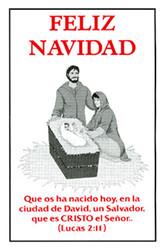 Spanish: Merry Christmas - Tract