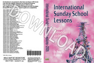 International Sunday School Lessons 2005 - Downloadable MP3