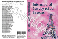 International Sunday School Lessons 2007 - Downloadable MP3