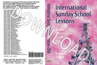 International Sunday School Lessons 2008 - Downloadable MP3