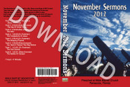 November 2012 Sermons - Downloadable MP3