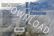June 2011 Sermons - Downloadable MP3