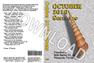 October 2010 Sermons - Downloadable MP3
