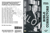 Bible Correctors, Volume 2 - Downloadable MP3