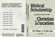Biblical Scholarship - Downloadable MP3
