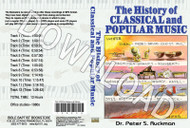 History of Classical  and Popular Music - Downloadable MP3