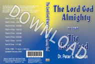 The Lord God Almighty vs. The Moon God - Downloadable MP3