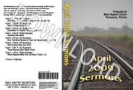 April 2009 Sermons - Downloadable MP3