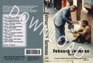 February 2014 Sermons - Downloadable MP3