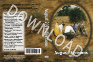 August 2014 Sermons - Downloadable MP3