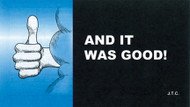 And It Was Good! - Tract