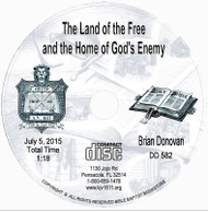 The Land of the Free and the Home of God's Enemy CD - Donovan