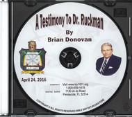 A Testimony to Dr. Ruckman CD - Donovan