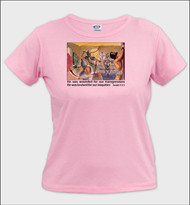 He Was Wounded - Ladies T-Shirt