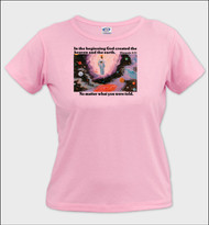 In the Beginning - Ladies T-Shirt