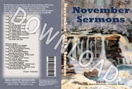 November 2016 Sermons - Downloadable MP3