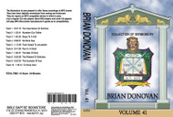 Brian Donovan Sermons on MP3 - Volume 41