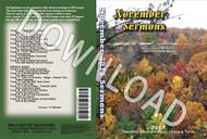 November 2017 Sermons - Downloadable MP3